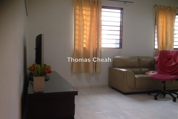For Sale Terrace at Taman Segar Perdana, Cheras Leasehold Semi Furnished 4R/4B 720k