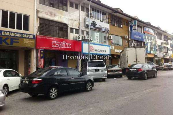 For Rent Shop at Pandan Indah, Pandan Indah Leasehold Unfurnished 3R/1B 1.2k