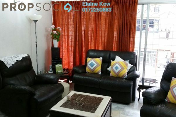 For Sale Apartment at Kinrara Court, Bandar Kinrara Leasehold Fully Furnished 3R/2B 285k