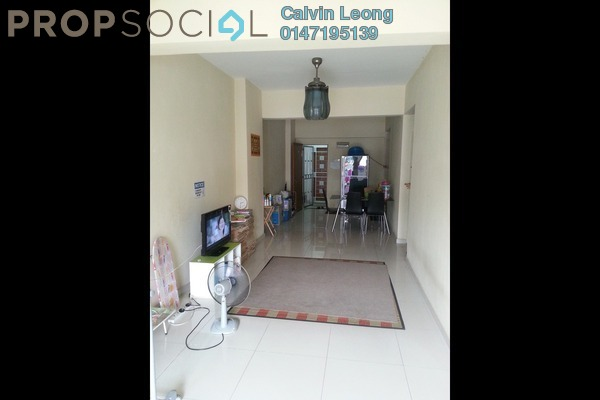 For Sale Condominium at Kepong Central Condominium, Kepong Leasehold Semi Furnished 3R/2B 335k