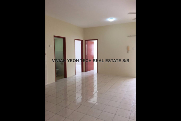 For Rent Apartment at Bayu Puteri, Tropicana Leasehold Unfurnished 3R/2B 1.6k