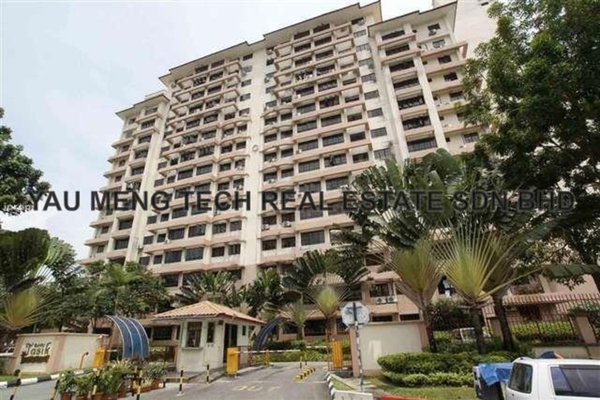 For Rent Condominium at Bayu Tasik 1, Bandar Sri Permaisuri Leasehold Fully Furnished 3R/2B 1.7k