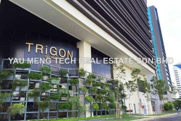 For Rent Condominium at TRiGON Luxury Residences @ Setia Walk, Pusat Bandar Puchong Freehold Fully Furnished 3R/2B 4.5k