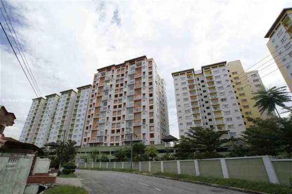 For Rent Condominium at Casa Desa, Taman Desa Leasehold Semi Furnished 3R/2B 1.5千