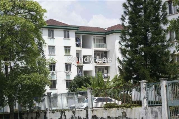 For Rent Apartment at Goodyear Court 6, UEP Subang Jaya Leasehold Unfurnished 3R/2B 1k
