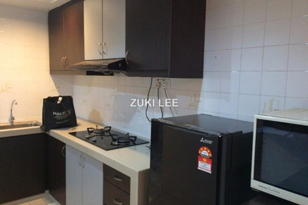 For Rent SoHo/Studio at Mutiara Villa, Bukit Ceylon Leasehold Fully Furnished 1R/1B 2.2k