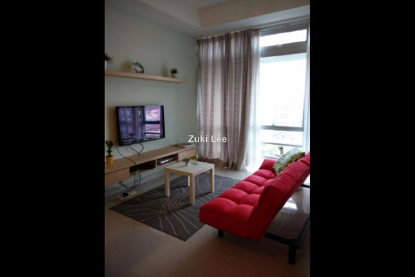 For Rent SoHo/Studio at One @ Bukit Ceylon, Bukit Ceylon Leasehold Fully Furnished 0R/1B 2.5k