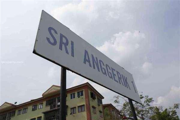 For Sale Apartment at Sri Anggerik 1, Bandar Kinrara Leasehold Unfurnished 3R/2B 278k
