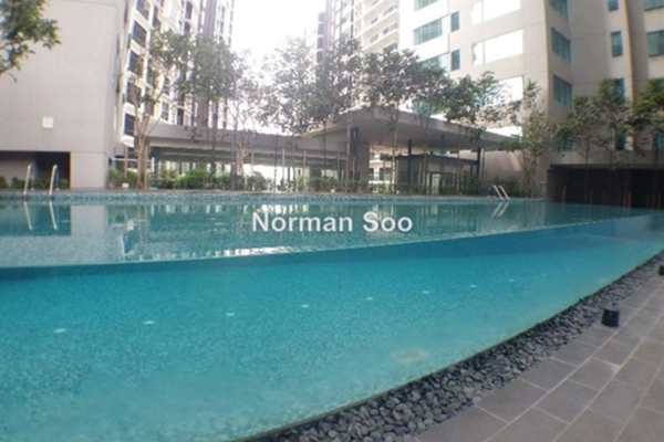 For Sale Condominium at Summer Suites, KLCC Leasehold Unfurnished 0R/1B 460k