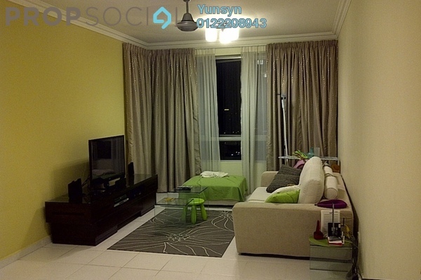 For Sale Condominium at The Tamarind, Sentul Freehold Semi Furnished 3R/2B 700k