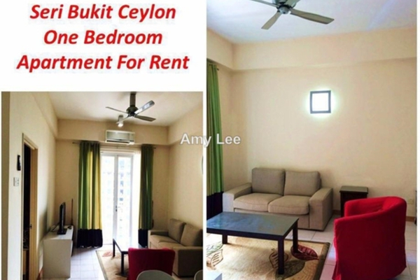 For Rent Condominium at Seri Bukit Ceylon, Bukit Ceylon Freehold Unfurnished 1R/1B 2.58k