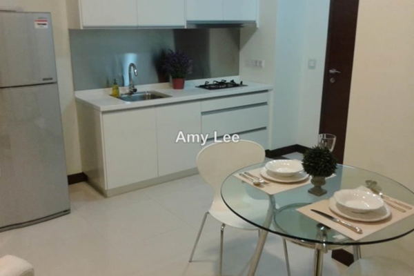 For Rent SoHo/Studio at Hampshire Residences, KLCC Freehold Fully Furnished 0R/1B 3k