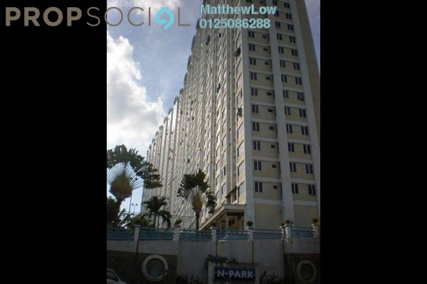 For Rent Condominium at N-Park, Batu Uban Freehold Unfurnished 3R/2B 1.05k