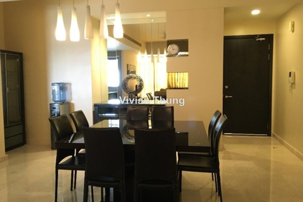 For Rent Condominium at The Meritz, KLCC Leasehold Semi Furnished 2R/3B 6k