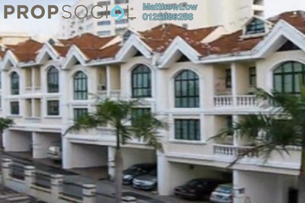 For Rent Townhouse at Krystal Court, Sungai Nibong Freehold Unfurnished 4R/3B 1.5k