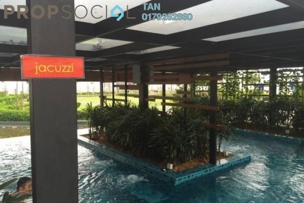 For Rent SoHo/Studio at Trefoil, Setia Alam Freehold Semi Furnished 0R/1B 1.1k