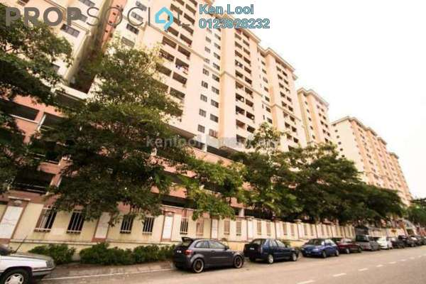 For Sale Apartment at Bougainvilla, Segambut Freehold Unfurnished 3R/2B 420k