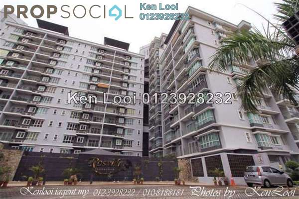 For Sale Condominium at Rosvilla, Segambut Freehold Semi Furnished 3R/2B 595k