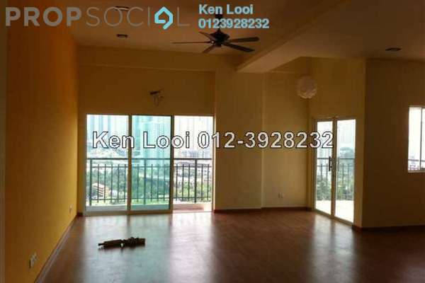 For Rent Condominium at Rosvilla, Segambut Freehold Semi Furnished 3R/3B 2.6k