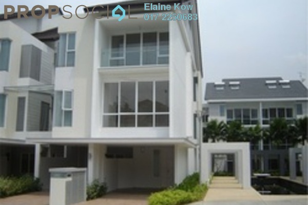 For Sale Townhouse at Challis Damansara, Sunway Damansara Leasehold Semi Furnished 3R/2B 1.29m