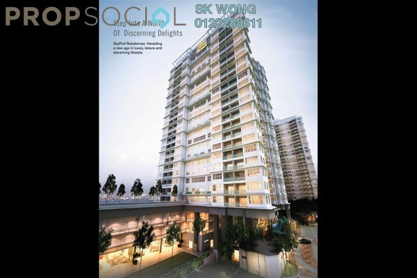 For Sale Serviced Residence at Skypod, Bandar Puchong Jaya Freehold Unfurnished 1R/1B 548k