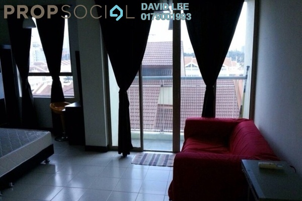 For Sale Serviced Residence at Ritze Perdana 1, Damansara Perdana Leasehold Fully Furnished 1R/1B 335k