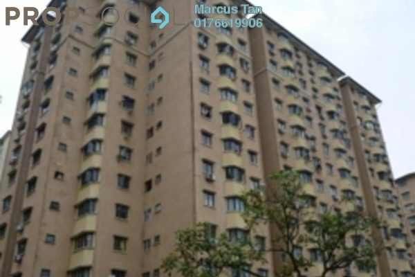For Sale Apartment at Aman Puri, Kepong Freehold Semi Furnished 3R/2B 330k