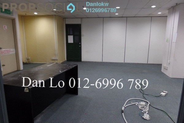 For Rent Office at Megan Avenue 1, KLCC Freehold Semi Furnished 2R/2B 2k