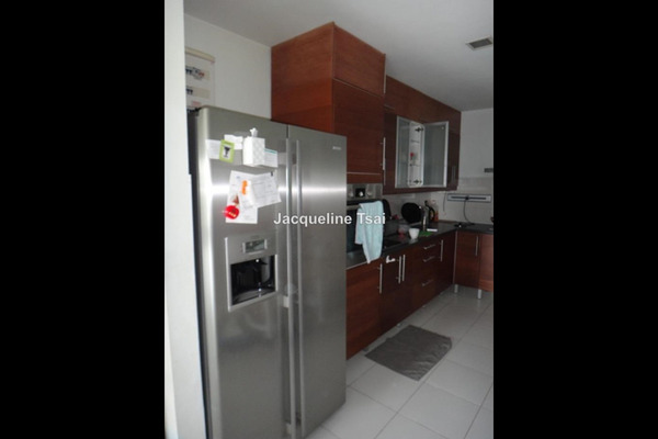 For Sale Condominium at The Saffron, Sentul Leasehold Semi Furnished 3R/2B 1.3m