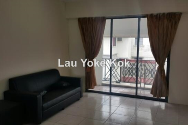 For Rent Condominium at Bangsar Permai, Bangsar Leasehold Semi Furnished 1R/1B 1.8k