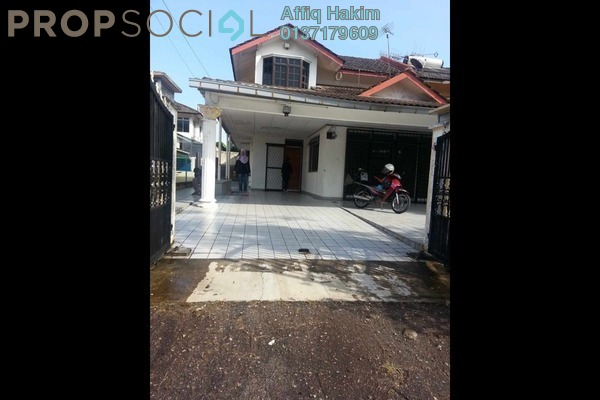For Rent Semi-Detached at Taman Perling, Iskandar Puteri (Nusajaya) Freehold Unfurnished 4R/2B 1.5k