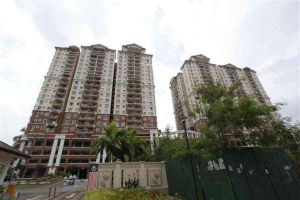 For Rent Condominium at Fortune Park, Seri Kembangan Leasehold Fully Furnished 3R/2B 2k