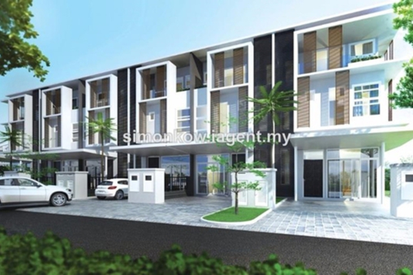 For Sale Terrace at Eden @ Jalil, Bandar Putra Permai Freehold Unfurnished 5R/5B 1.4m