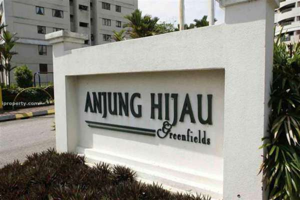 For Rent Condominium at Anjung Hijau, Bukit Jalil Freehold Fully Furnished 2R/2B 1.35k