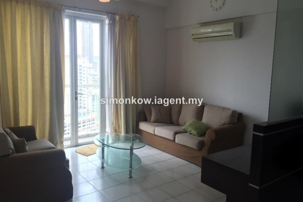 For Rent Condominium at Seri Bukit Ceylon, Bukit Ceylon Freehold Fully Furnished 1R/1B 2.3k