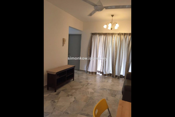 For Rent Condominium at Danau Permai, Taman Desa Leasehold Fully Furnished 1R/1B 1.7k