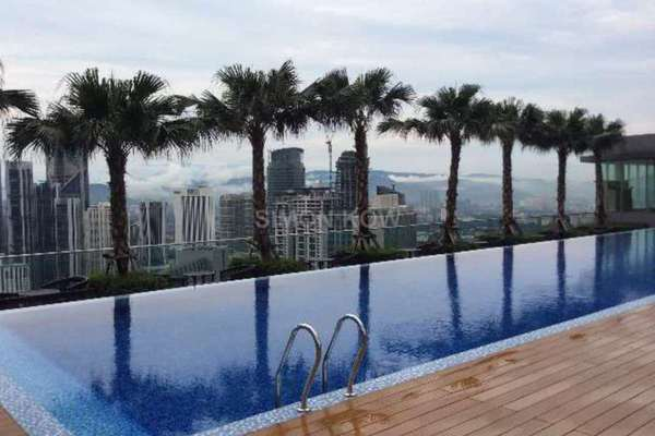 For Rent Condominium at Vipod Suites, KLCC Freehold Fully Furnished 2R/2B 5.2k