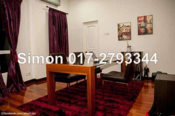 For Rent Condominium at Seri Bukit Ceylon, Bukit Ceylon Freehold Fully Furnished 4R/4B 8.9k
