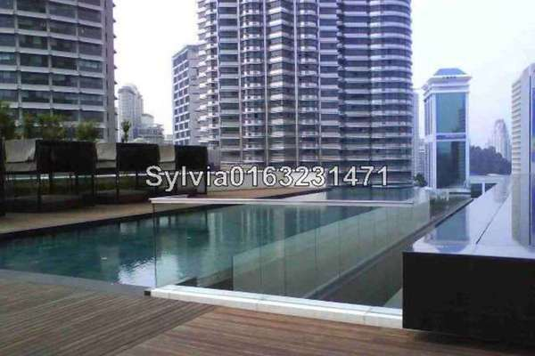 For Sale Condominium at K Residence, KLCC Leasehold Fully Furnished 2R/3B 2.5m