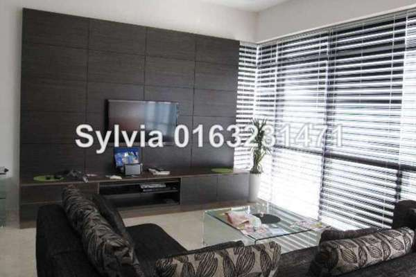 For Rent Condominium at Panorama, KLCC Leasehold Unfurnished 2R/2B 7k