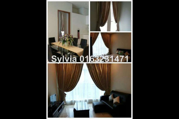For Rent Condominium at Soho Suites, KLCC Leasehold Semi Furnished 1R/1B 3k
