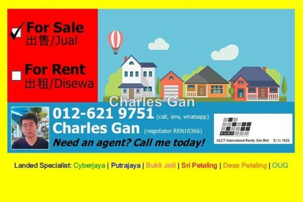 For Sale Bungalow at Taman Yarl, Old Klang Road Freehold Semi Furnished 5R/4B 3.87m
