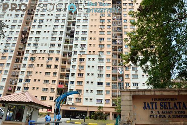 For Rent Apartment at Jati Selatan Apartment, Desa Petaling Freehold Semi Furnished 3R/2B 1k