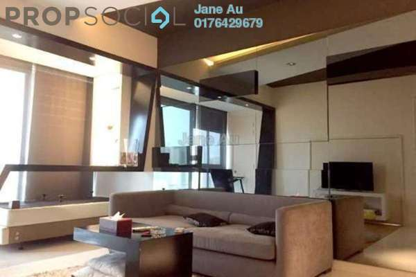 For Sale Condominium at Gateway Kiaramas, Mont Kiara Freehold Fully Furnished 1R/1B 670k