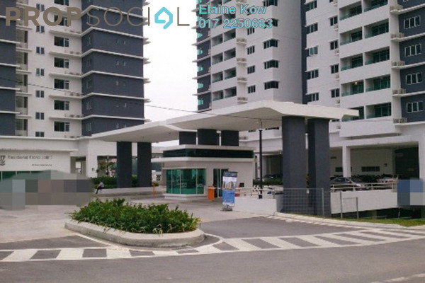 For Sale Condominium at Kiara Residence, Bukit Jalil Leasehold Semi Furnished 3R/2B 720k