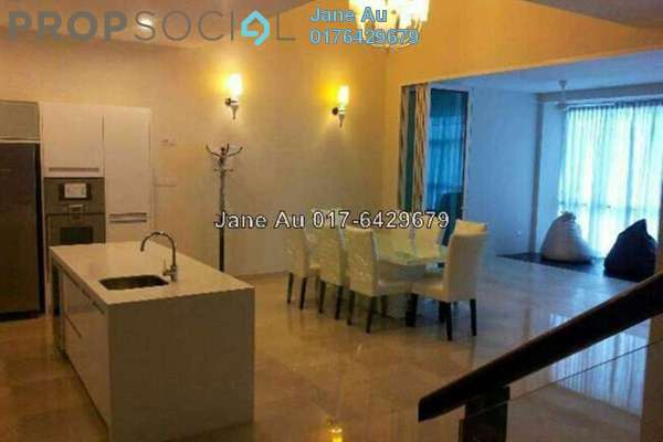 For Rent Condominium at Sunway Vivaldi, Mont Kiara Freehold Fully Furnished 4R/4B 12k