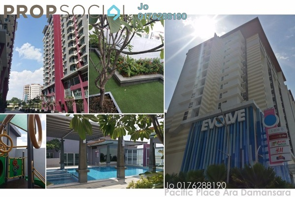 For Rent Serviced Residence at Pacific Place, Ara Damansara Leasehold Fully Furnished 2R/2B 1.8k