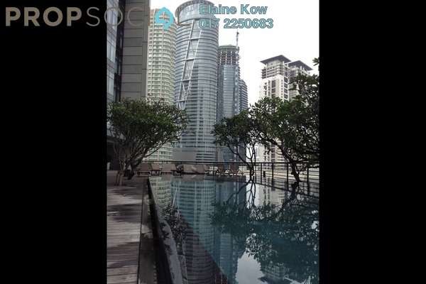 For Rent SoHo/Studio at The Troika, KLCC Freehold Semi Furnished 1R/1B 7.3k
