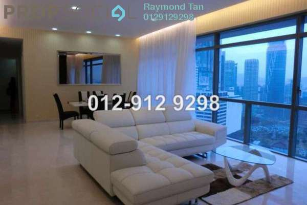 For Rent Condominium at Binjai Residency, KLCC Freehold Fully Furnished 3R/4B 8.5k