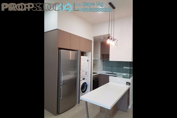 For Rent Condominium at Twin Arkz, Bukit Jalil Freehold Fully Furnished 2R/2B 3k